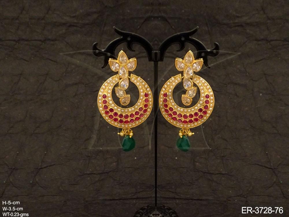 Antique Model Chand Bali Earrings Earrings Jewellery