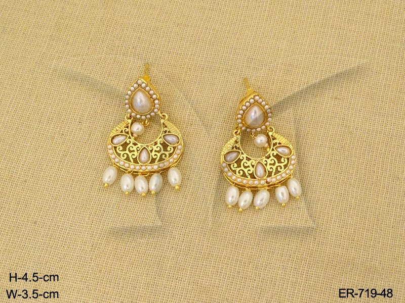 Gold Earrings Designs Indian Traditional Gold Earrings