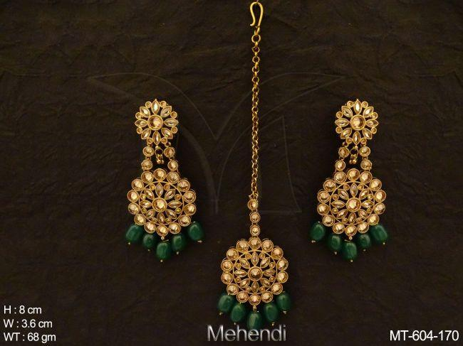 Antique Maangtikka Earring-MT-605-GR170-MT.jpg