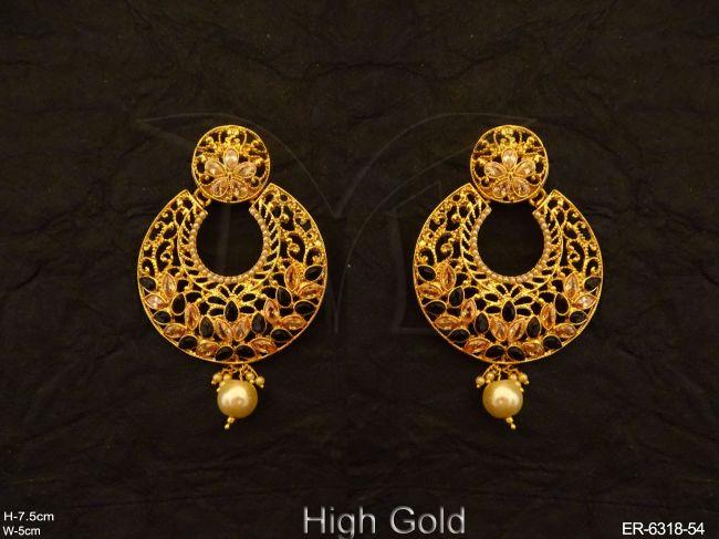 Temple Jewellery Earrings | Temple Jewellery | Coin Earrings