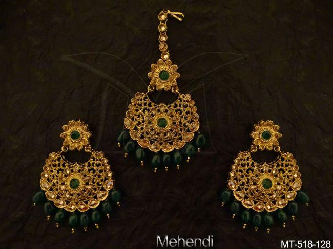 Antique-Maangtikka Earring-MT-518Gr-128-MT.jpg